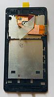 Sony Xperia V LT25i дисплей + сенсор + рамка оригінальний тестований