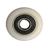 Сменное колесо для роликов душевых кабин, гидромассажных боксов диаметром 24 мм.