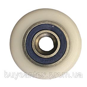 Сменное колесо для роликов душевых кабин, гидромассажных боксов диаметром 25 мм., фото 2