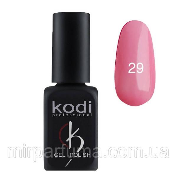 Гель лак KODI №029 светло-розовый с перламутром 12 мл