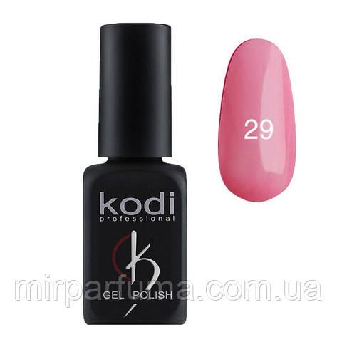 Гель лак KODI №029 светло-розовый с перламутром 12 мл, фото 2