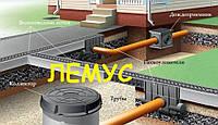 Монтаж ливневой канализации и водоотведения. Проектирование