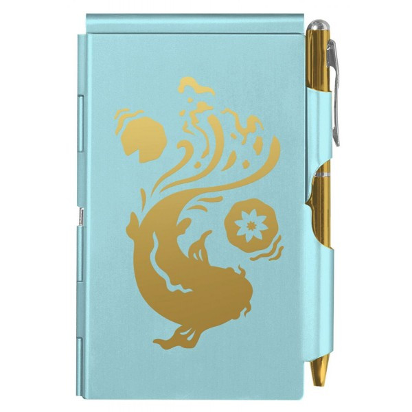 Карманный блокнот с ручкой Koi Fish