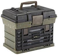 Коробка Plano Bone Collector Shooter, для патронов и принадлежностей, зеленый/черный (137220)