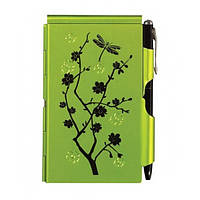 Карманный блокнот с ручкой Lime Blossom