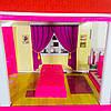 Кукольный домик. Домик для барби на 5 комнат. Двухэтажный кукольный дом с верандой 6980, фото 5