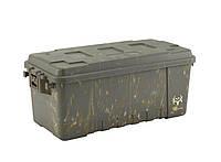 Коробка Plano 68 Quart,средняя,для патронов,Bone Collector,зеленая (171920)