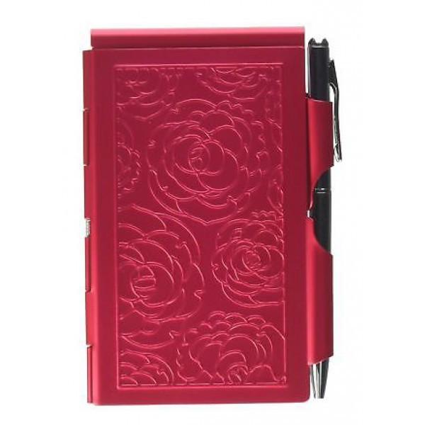 Карманный блокнот с ручкой Peacock