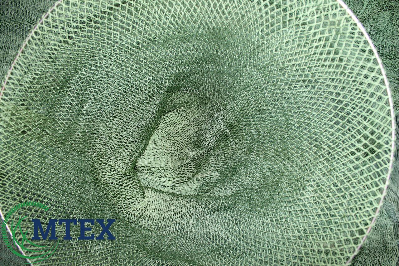Сетка рукав капроновый ячея 10мм. Окружность 150 яч. Нить 1мм. Диаметр 67 см.