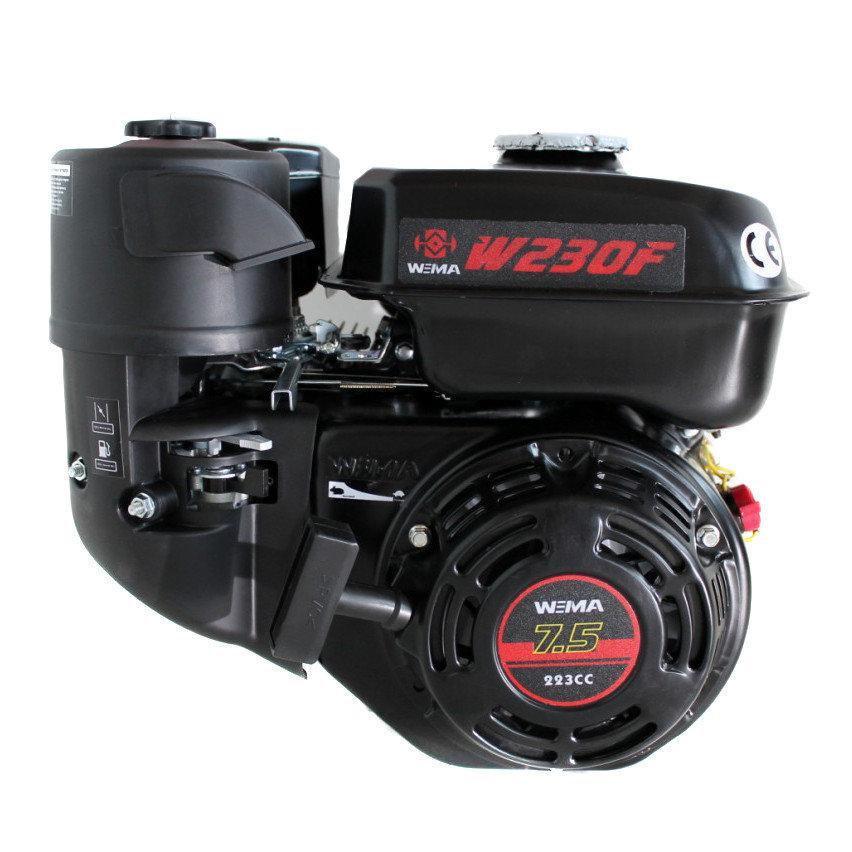 Двигатель бензиновый Weima W230F-S (7,5 л.с.,вал 20мм, шпонка, ЕВРО-5)