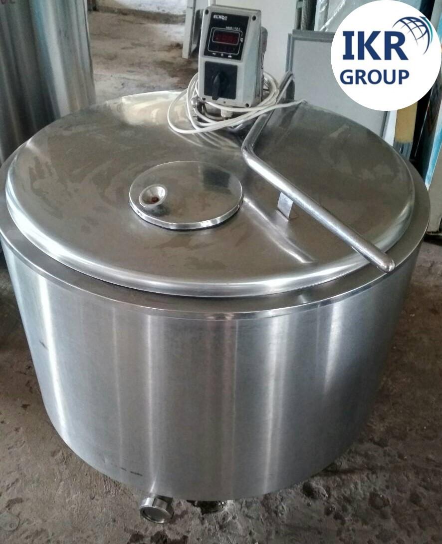 Охладитель молока б/у Krosno на 300 литров открытого типа