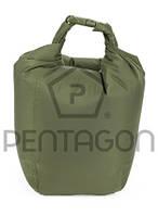 K16041M Сумка герметичная & Pentagon&  Dry Bag EFI (зеленая) p.M (K16041M)