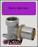 "Угол монтажный 16х1/2""В  ICMA пресс-фитинг"