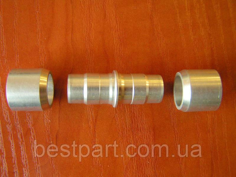 З'єднувач для ремонту алюмінієвих трубок 8 мм.