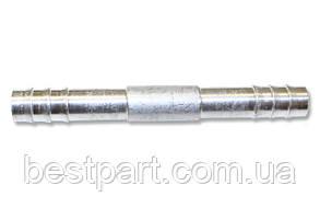Фітінг №8, 0', з'єднання єднувальний, алюміній