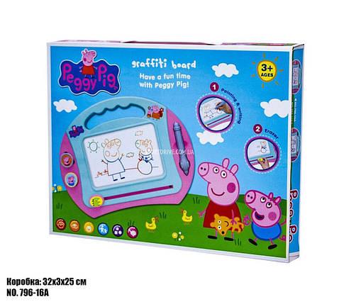 Детский планшет для рисования 4 вида 796-16A, фото 2
