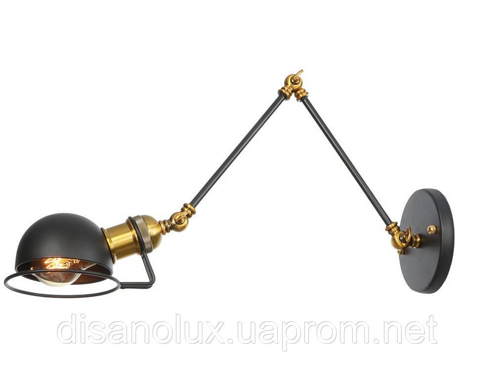 Светильник   настенный   LOFT WD -300x300 E27 черный /ант. медь