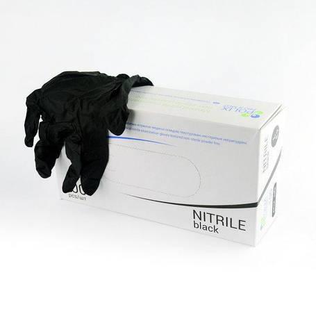 Перчатки Polix PRO&MED BLACK M (буз пудры), фото 2