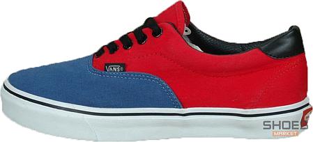 Женские кеды Vans ERA Red/Blue/Black Line, Ванс Ера, фото 2