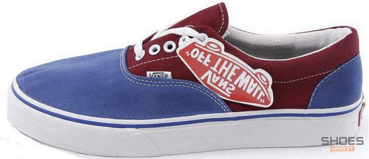 Мужские кеды Vans ERA Dark Rose/Blue Line, Ванс Ера