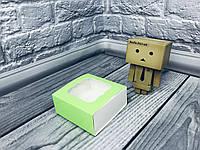 *50 шт* / Коробка для пряников / 80х80х35 мм / печать-Салат / окно-обычн, фото 1