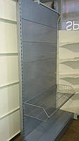 Торговые стеллажи перфорированные бу (Торпал), фото 1