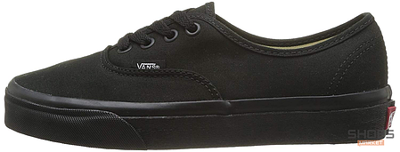 Мужские кеды Vans AUTHENTIC All Black, Ванс Аутентик, фото 2