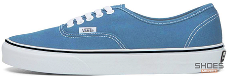 Мужские кеды Vans AUTHENTIC Light Blue, Ванс Аутентик, фото 2