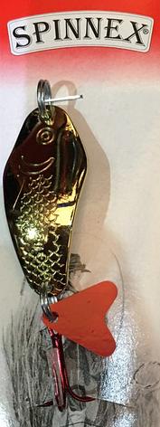 Блешня Spinnex Osa 18g gold, фото 2