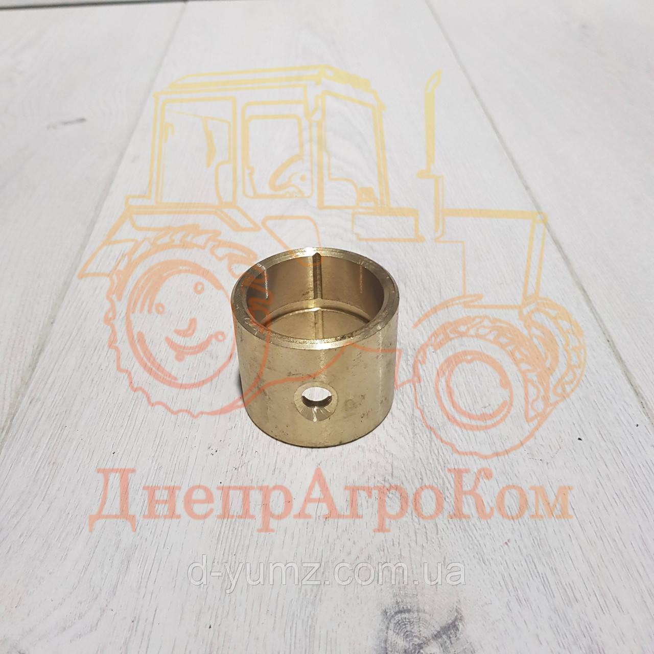 Втулка распредвала передняя ЮМЗ Д-65| бронзовая | Д01-008