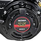Двигун бензиновий Weima W230F-S NEW ЄВРО 5 (7,5 л. с., шпонка, 20 мм), фото 5