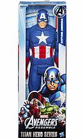 Фигурка Капитан Америка Hasbro Мстители Marvel Avengers Titan Hero Series Captain America 30 см, фото 1