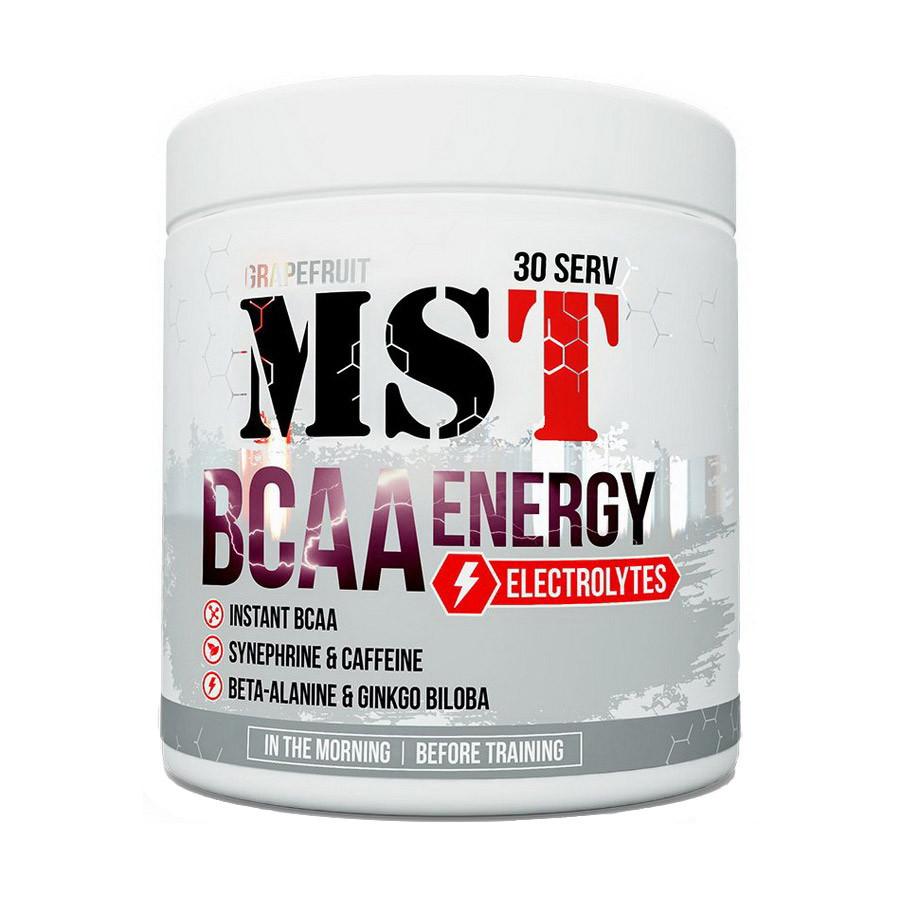 БЦАА MST BCAA Energy Electrolytes (330 г) мст  grapefruit