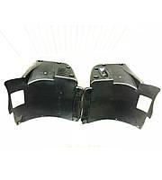 Подкрылки локера брызговики BMW E39 с M бампером (абс пластик)