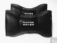 Автомобильная ортопедическая подушка на подголовник под шею RANGE ROVER (Рендж Ровер)  00676