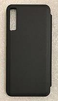 """Чехол книжка """"CLEAR VIEW ..."""" для Samsung Galaxy A7 2018 (A750) black, фото 3"""