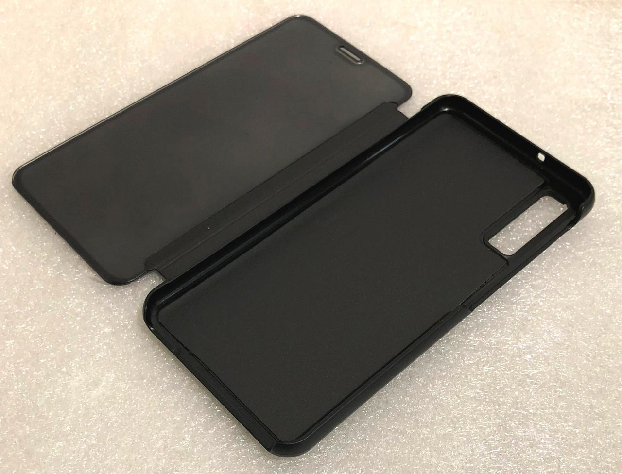 "Чехол книжка ""CLEAR VIEW ..."" для Samsung Galaxy A7 2018 (A750) black"