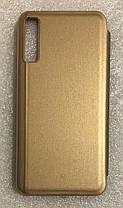 """Чохол книжка """"CLEAR VIEW..."""" для Samsung Galaxy  A7 2018 (A750) gold, фото 2"""
