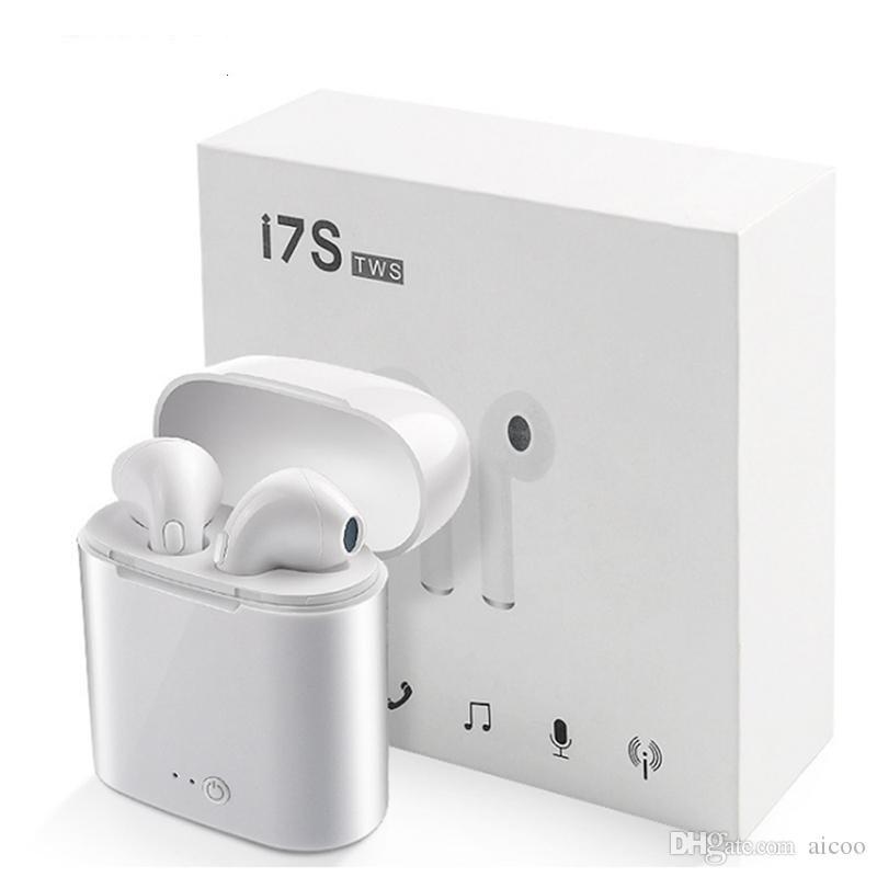 Наушники Беспроводные  Wireless i7s TWS Белые