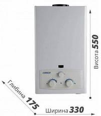 Дымоходная газовая колонка Ariston DGI 10L CF Superlux, фото 2