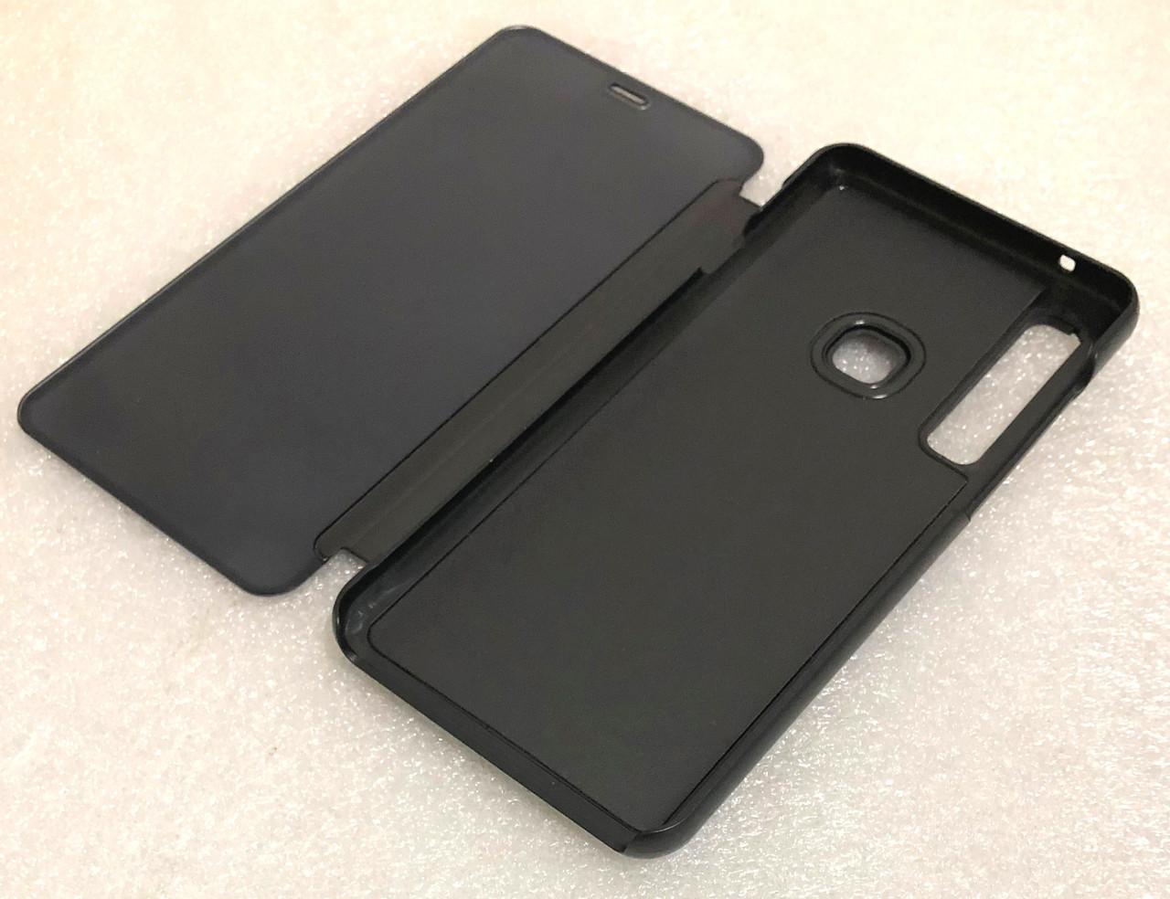 """Чохол книжка """"CLEAR VIEW..."""" для Samsung Galaxy A9 2018 (A920) black"""