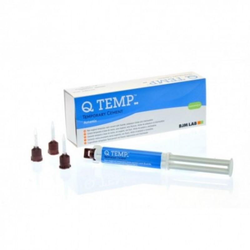 Q TEMP Auto Mix (Кью темп), впеменный композитный цемент для фиксации
