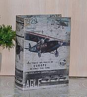 Книга-сейф Аэроплан 22см, фото 1