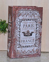 Книга-сейф Париж корона 26см