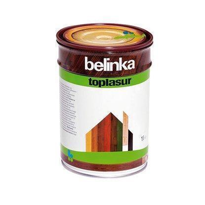 Толстослойная лазурь для дерева BELINKA TOPLASUR (олива) 1 л