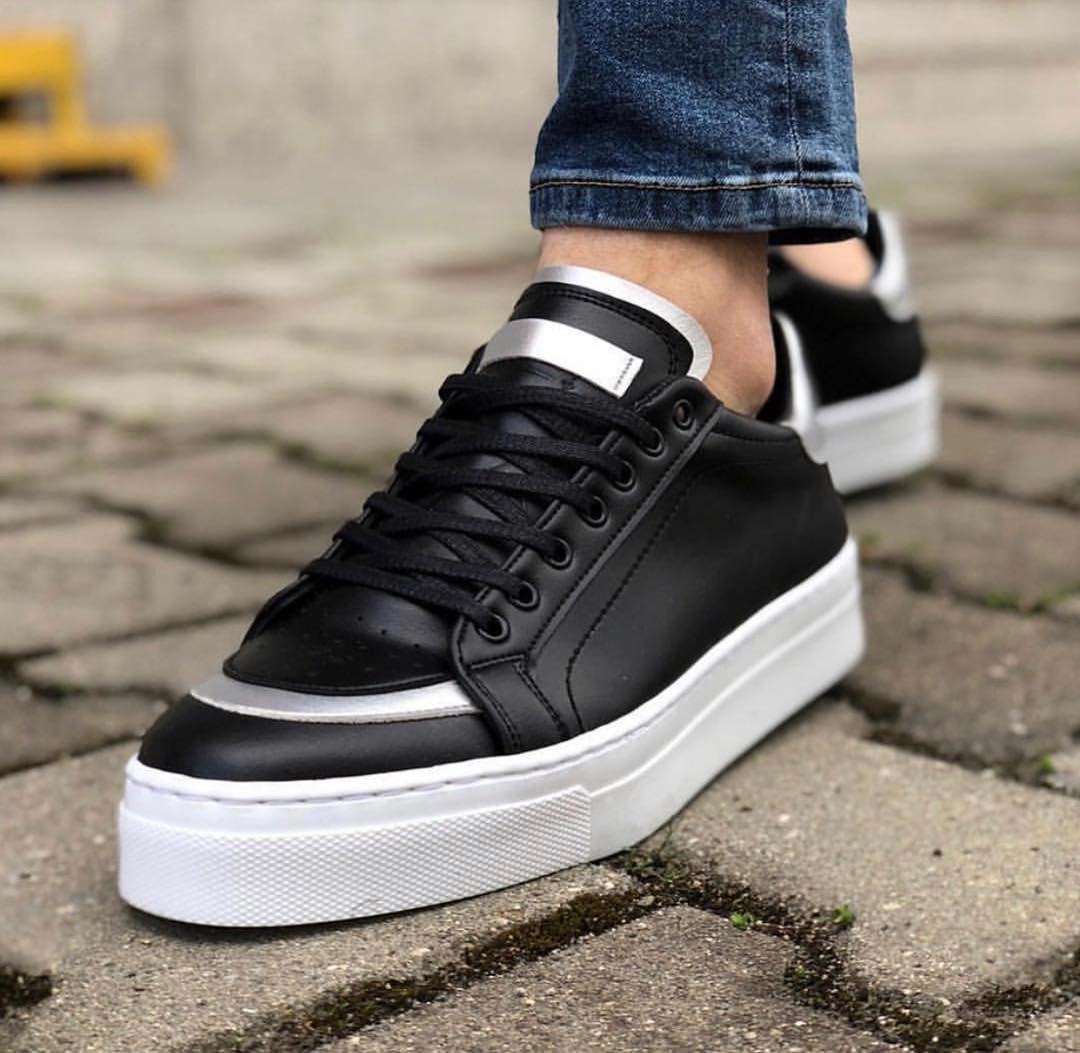 Мужские кроссовки Paul Cruz black/white