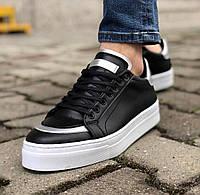 Чоловічі кросівки Paul Cruz black/white, фото 1
