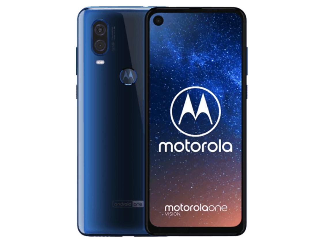 Смартфон Motorola One Vision 4/128Gb DS Sapphire blue