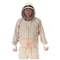 Куртка пчеловода маска съемная (Диагональ)