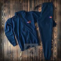 Спортивный костюм мужской Tommy Hilfiger | Олимпийка + штаны | Костюм Найк весенний осенний ЛЮКС качества, фото 1